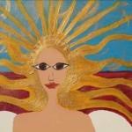 Sonne, Haare, Gemälde Tantra