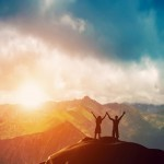 Paare, Freiheit, Tantra neu entdecken, Berge